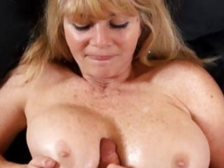 large tit mature milf fucks a youthful cock