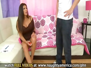cougar teri weigel receives her sons friend to