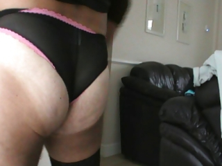 wank and cum in wifes pants