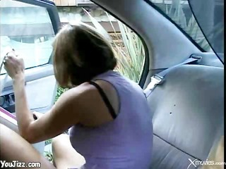 hot lustful cougar acquires taken for a fuck ride