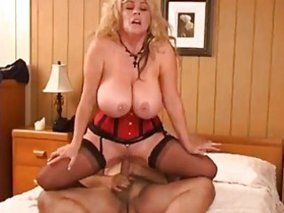 ron jeremy makes love to a mature buxom woman pt