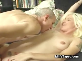 old guy enjoying horny mother i