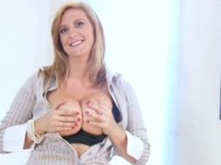 breasty office milf acquires off when she gets