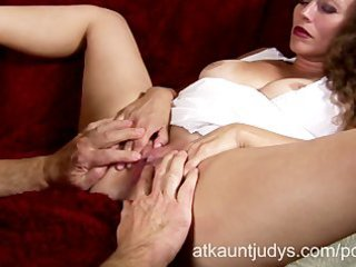 mature busy ava bella fucks for a creampie