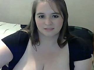 bulky mother i with big breast masturbating on