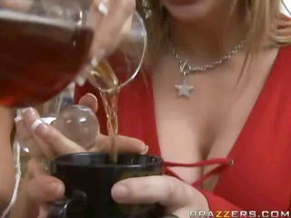 sara jay holly halston - large cock and scotch