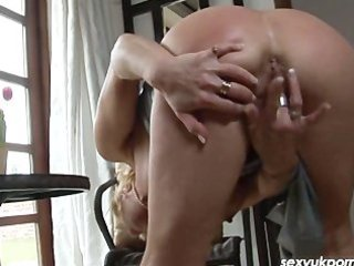 aged british pornsatr jane bond pussy play in the