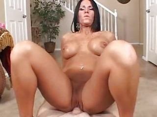 hawt butt tattooed milf sucks and rides hard boner