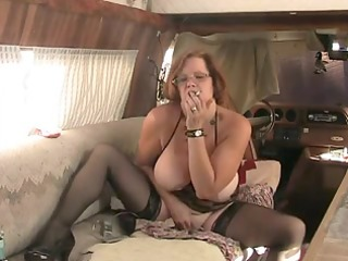 solo #0 (older redhead with big tits)