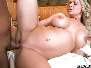 large boobed momma kate frost enjoys her