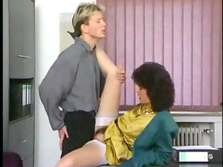 Aged secretary receives drilled