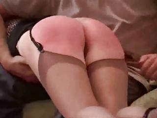 older chicks spanked