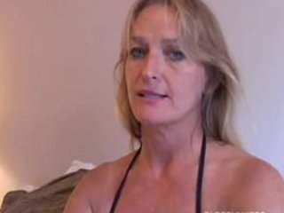 mature honey enjoys a smoke and a jerk off