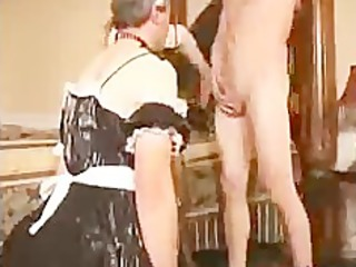 Sissy Husband Sucks Cock For Wife bdsm bondage