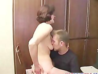 student bonks his older teacher