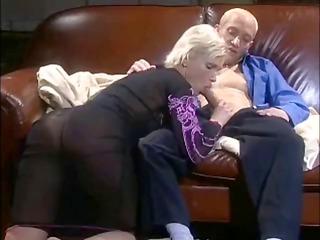 tatiana zdrok sucks on his cock in advance of she
