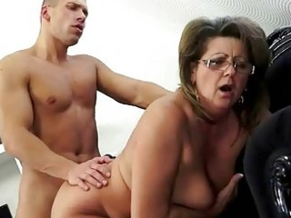 grandma and her juvenile boyfriend making love