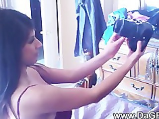 breasty latina legal age teenager and her sugar