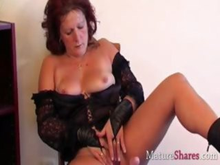 bawdy mature housewife dana in solo