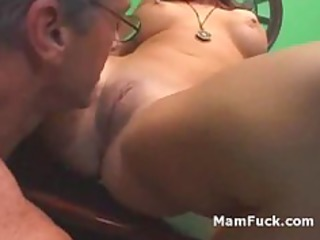 old man doggy fucks butt aged sweetheart as hawt
