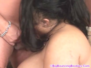 Shanice sucking hard on