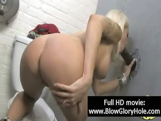 gloryhole - hot breasty chicks love engulfing