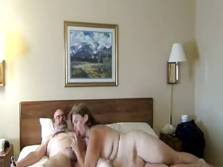 mature woman sucking