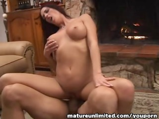 lovely mature woman drilled from behind