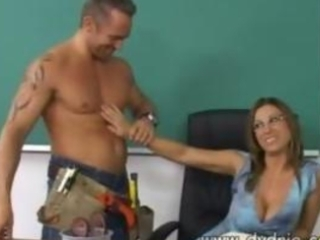 Construction worker finds hot teacher devon lee