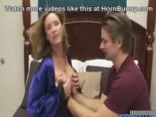 mom wishes her son to cum inside her -