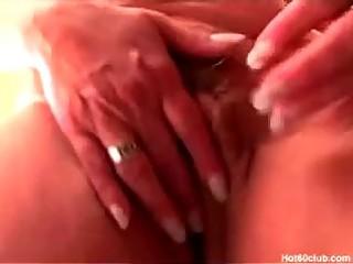 hardcore aged granny perverted dildo fucking