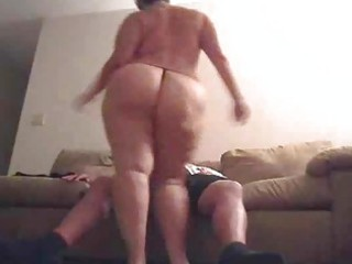 Chubby wife with big butt fucked