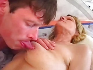 young buck rides a sweet older slit