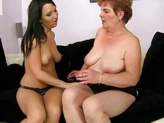 naughty legal age teenager and ugly granny have