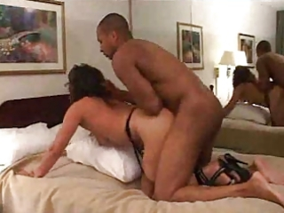 wife drilled at a hotel