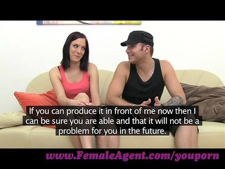 femaleagent. boyfriend leaves and shes all mine