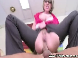 cfnm office harlots ride on hard pecker