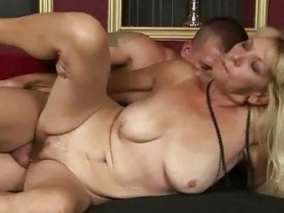 sexually excited granny getting fucked pretty hard