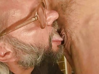 hot grandma has sex with her old paramour