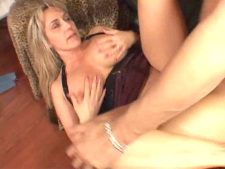 big titted milf is pleased her boyfriend came