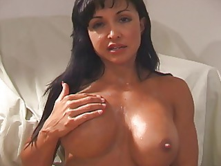Jewels Cum on my face and tits JOI