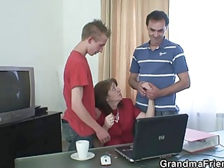 office doxy takes cocks