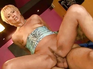 hot granny engulfing and riding large youthful