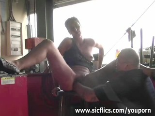 slut wife brutally fist screwed untill she is