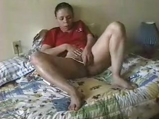 older latina getting off