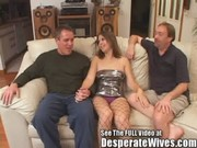 dana fulfills her floozy wife mfm three way