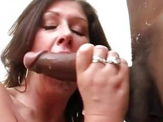 big breasted slut wife fucks darksome hunk in
