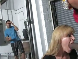 blonde mother nicole moore receives banged by a