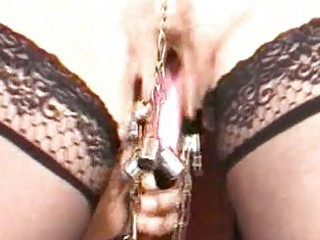 Mature slave pussylips punishment