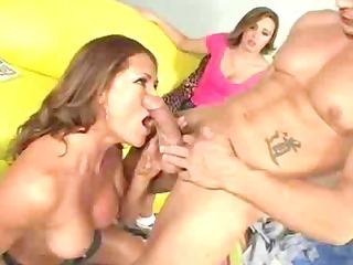 Male Stripper Fucks The Horny Family
